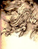 Then I Drew A Dragon by serialzero
