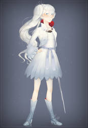 Weiss from RWBY by ad321