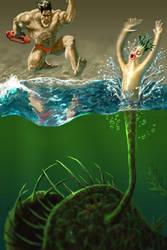Siren Fish by sonofamortician