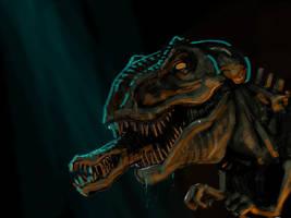 Alienosaur by sonofamortician