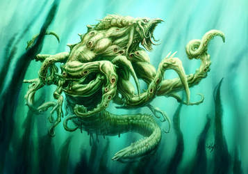 Kraken by elmisa