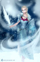 Elsa - come and get me! by MYuee