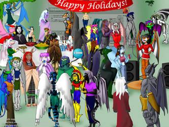 1000 pgvws, Happy Holidays by GargoylesClub