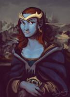 Demona Lisa by GargoylesClub