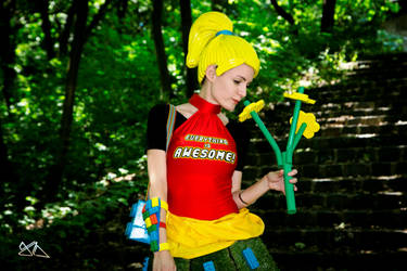 LEGO cosplay by Nyima-chan