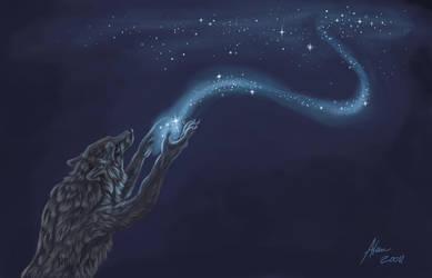 Paint the sky by Atan