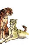 Ratha and Bonechewer by Atan