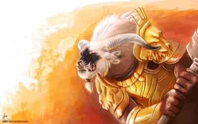 Warrior by Atan