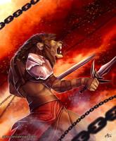 Into Battle by Atan
