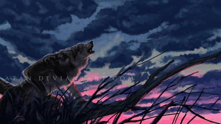 Dusk Howl by Atan