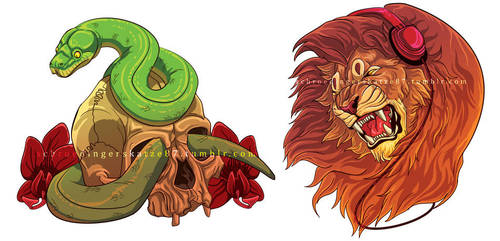 Illustrator stuff by Atan