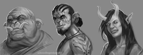 Bunch o' RPG faces by Atan