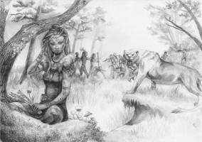 Anariel - A Tale of Mist and Shadow by BrassDragon