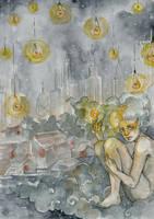 Big City Lights by Allantiee