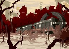 Mass Effect Environment Concept 02 by Allantiee