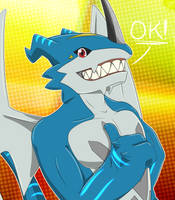 Exveemon approves it | Drakostyle by Hex-G3