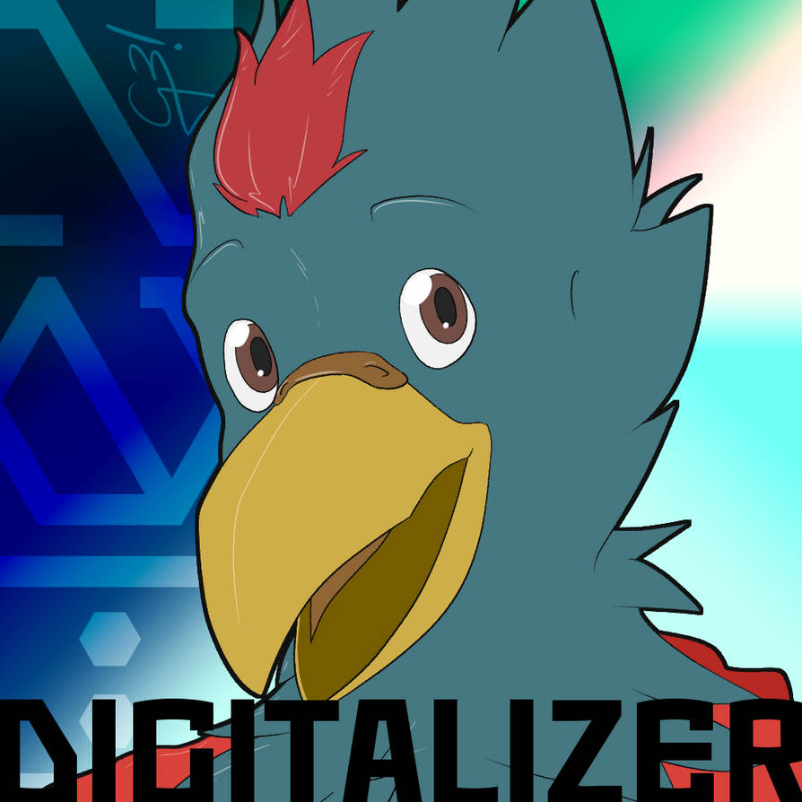 Digitalizer fanart | Hexstyle by Hex-G3