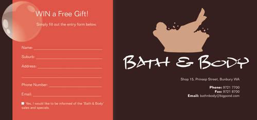Bath and Body Competition Slip by bushchicken100