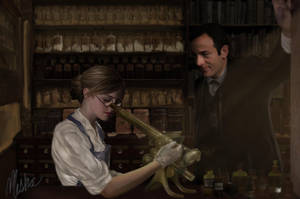 Art-Trade: Observing by elfdust
