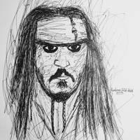 Jack Sparrow sketch by arttothmark