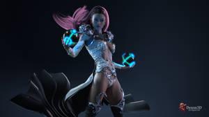 Lexi the Sorceress 2 by Dexon3D