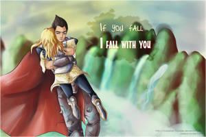 If you fall... by Godaime-Tsunade