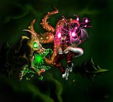 Shango: god of Thunder by 133art