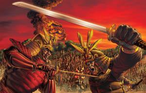 Samurai War final by 133art