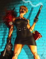 Assasin Lady Color by 133art