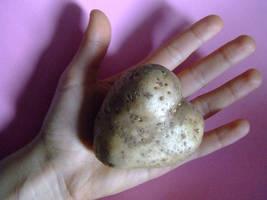 potato heart by UnforgettableEli