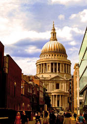 st. paul's cathedral by reversibilidade