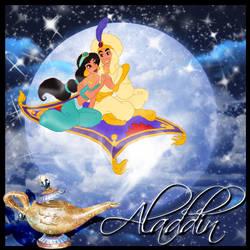 Aladdin CD Cover Art by KelseyTroberg