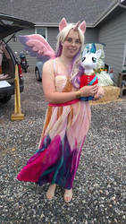 Cadence Cosplay with Shining Armor BAB by egyptianthief