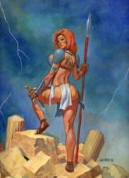 Nikki Warrior by saltares