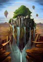 Ville dans le desert by o-Sehaliah-o