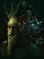 Homme arbre by o-Sehaliah-o
