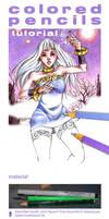 colored pencils tutorial by NorikoAmandola