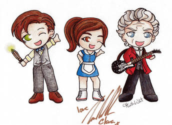 Clara and Her Doctors by Heza-chan