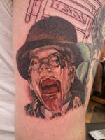 Melting Face Nazi Tattoo by shinigami-sama