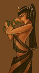 Cleopatra In Progress by shinigami-sama