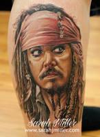 Captain jack Sparrow by shinigami-sama