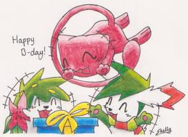 Happy Birthday to MysticShonu by Yakalentos