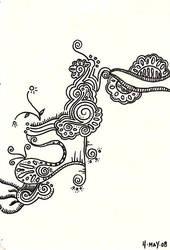 5.4.08 doodle 2 by nursenicole