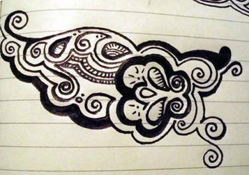 5.21.08 train doodle 2 by nursenicole
