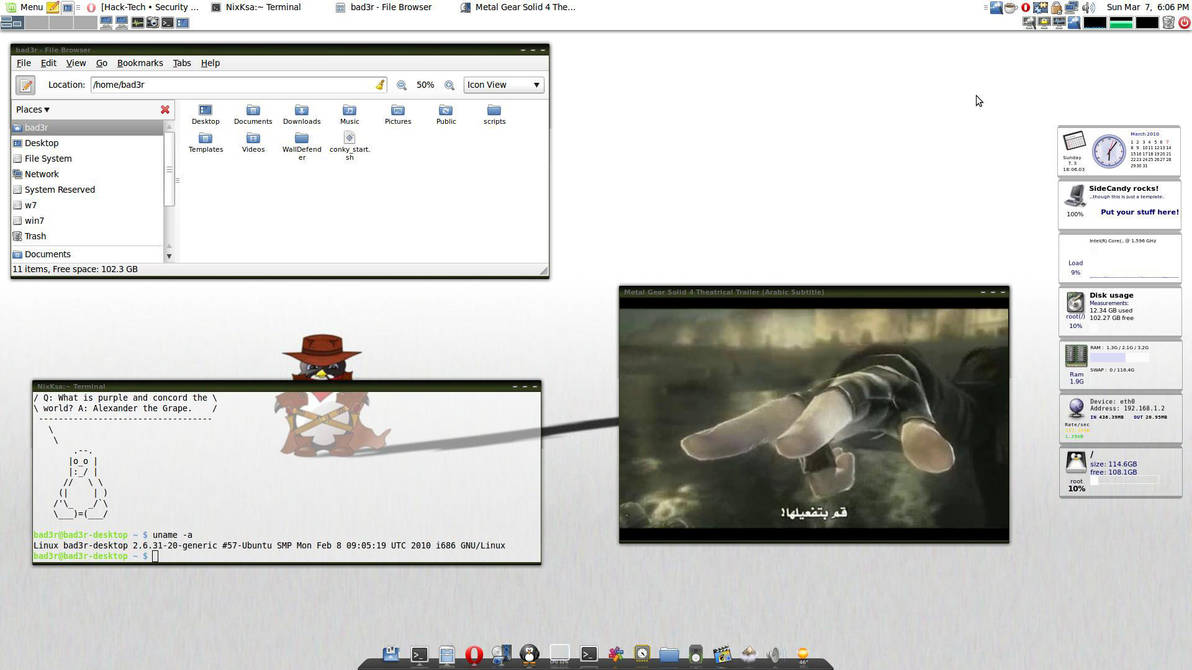 linuxmint8desk2 by Linux4SA