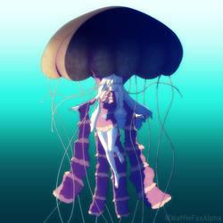 black sea nettle LUMi by WaffleFoxAlpha