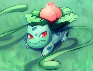 Ivysaur by HamsterParade
