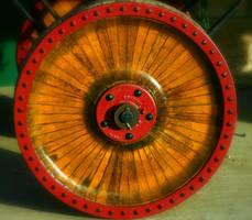 Red Wheel by mygreymatter