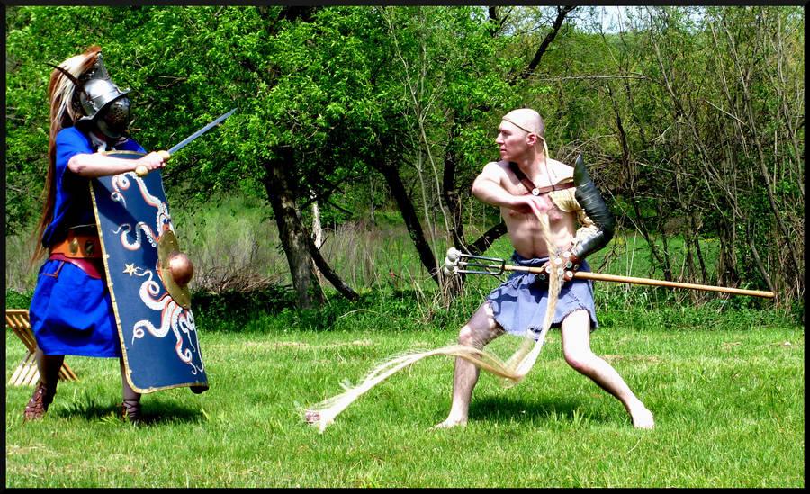 Gladiators by mygreymatter