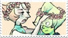 - Stamp: Peridot x Pearl. - by ChicaTH